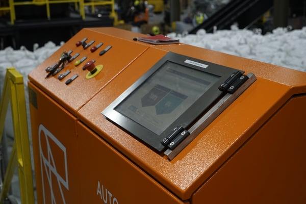 AUTOSORT FINES' customer interface