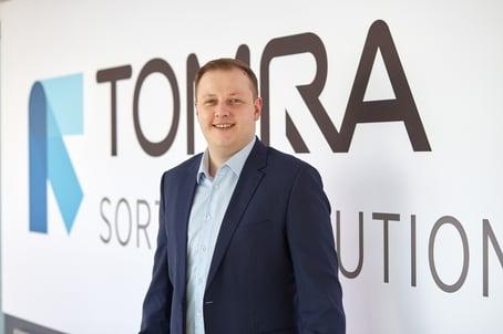 László Székely, VP Head of Plastic Applications at TOMRA