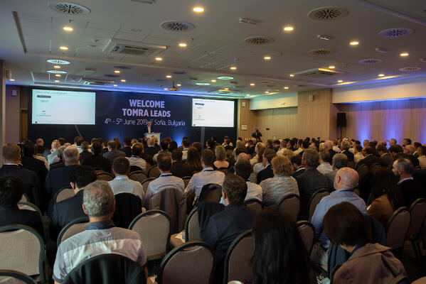 TOMRA Leads Global Conference 2019 gathered 216 delegates from 31 countries